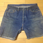501xx cutoff shorts