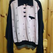 Pink×Black Pullover